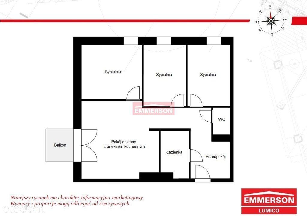 Mieszkanie 4 pokoje Podgórze
