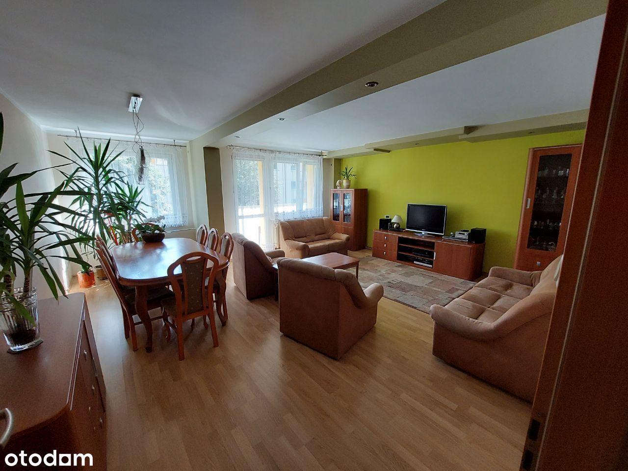 Mieszkanie 76,8 m2, 3 pokoje,balkon,z WYPOSAŻENIEM