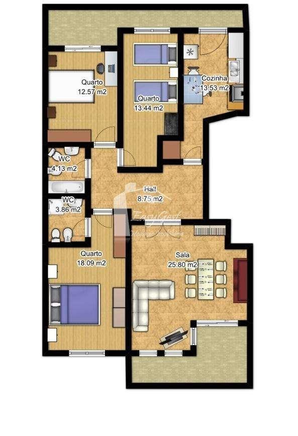 Apartamento para comprar, Caldas da Rainha - Santo Onofre e Serra do Bouro, Caldas da Rainha, Leiria - Foto 13
