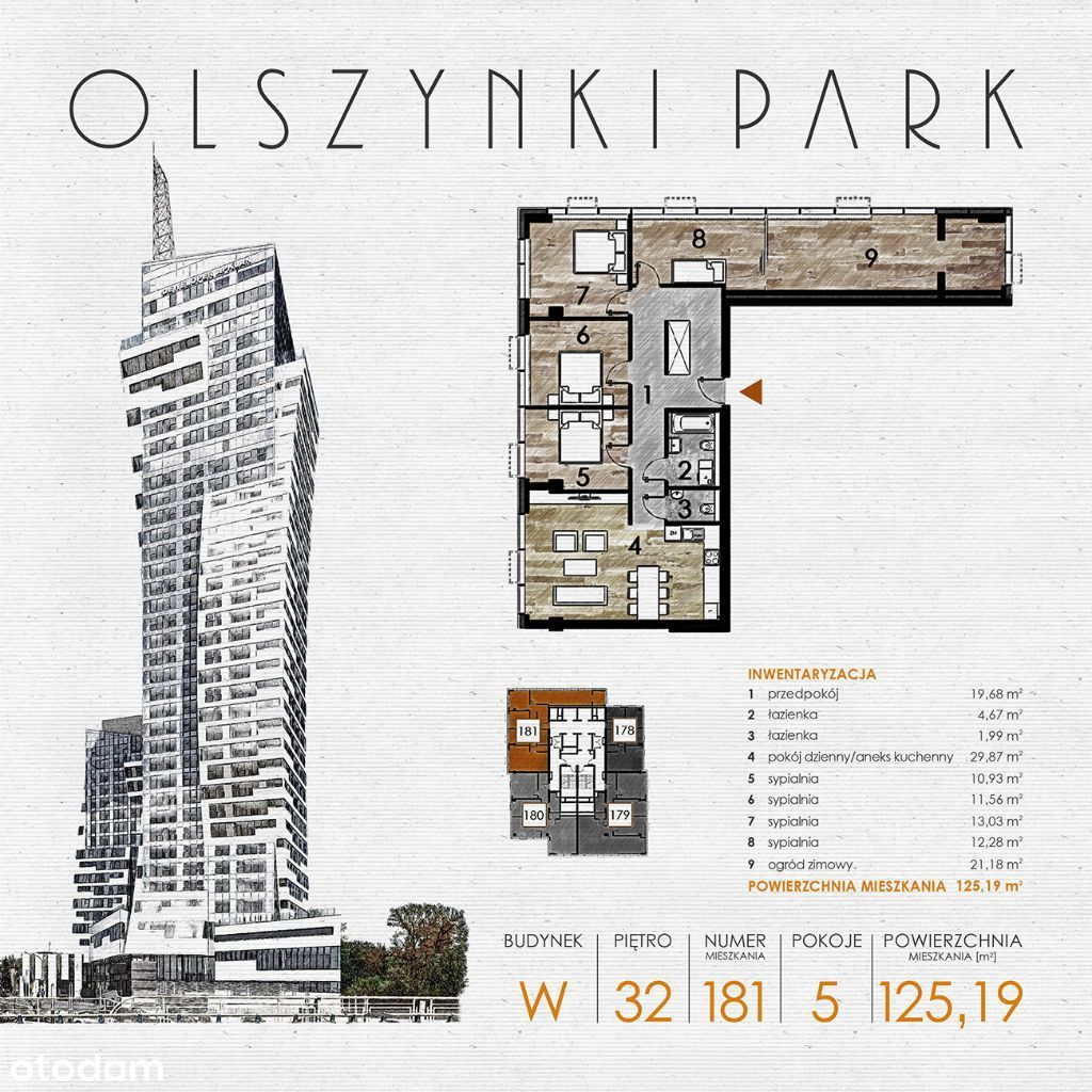 Olszynki Park - Apartament W181