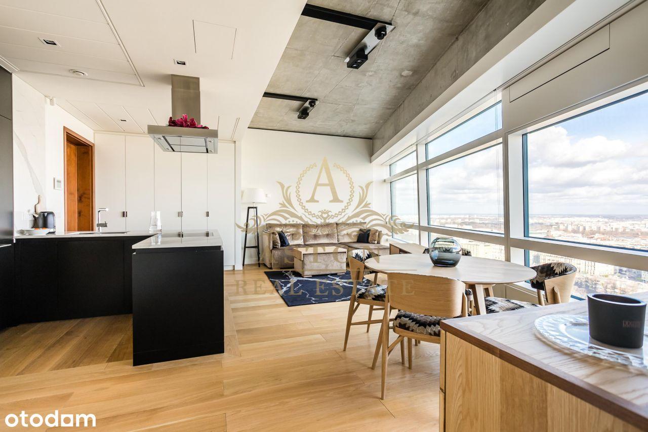 Modern apartment on 29th floor on Złota 44