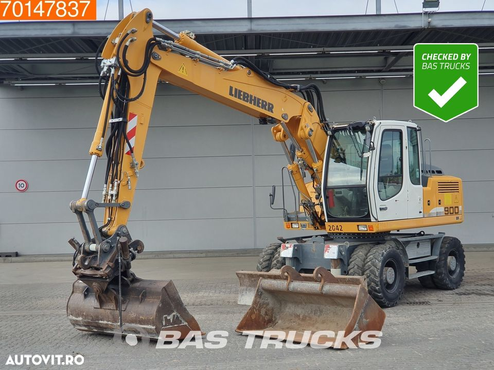Liebherr A900C 2X BUCKETS - FROM FIRST OWNER - 1