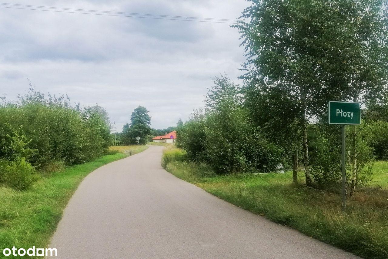 Działka rolna we wsi Płozy (okolice Szczytna)