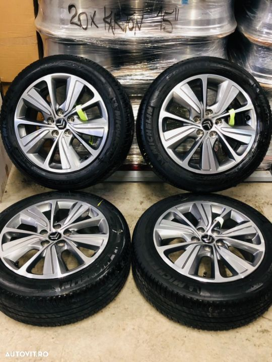 "Jante Citroën C4 Picasso , Grand Picasso , originale , 17"", anvelope vara Michelin - 2"