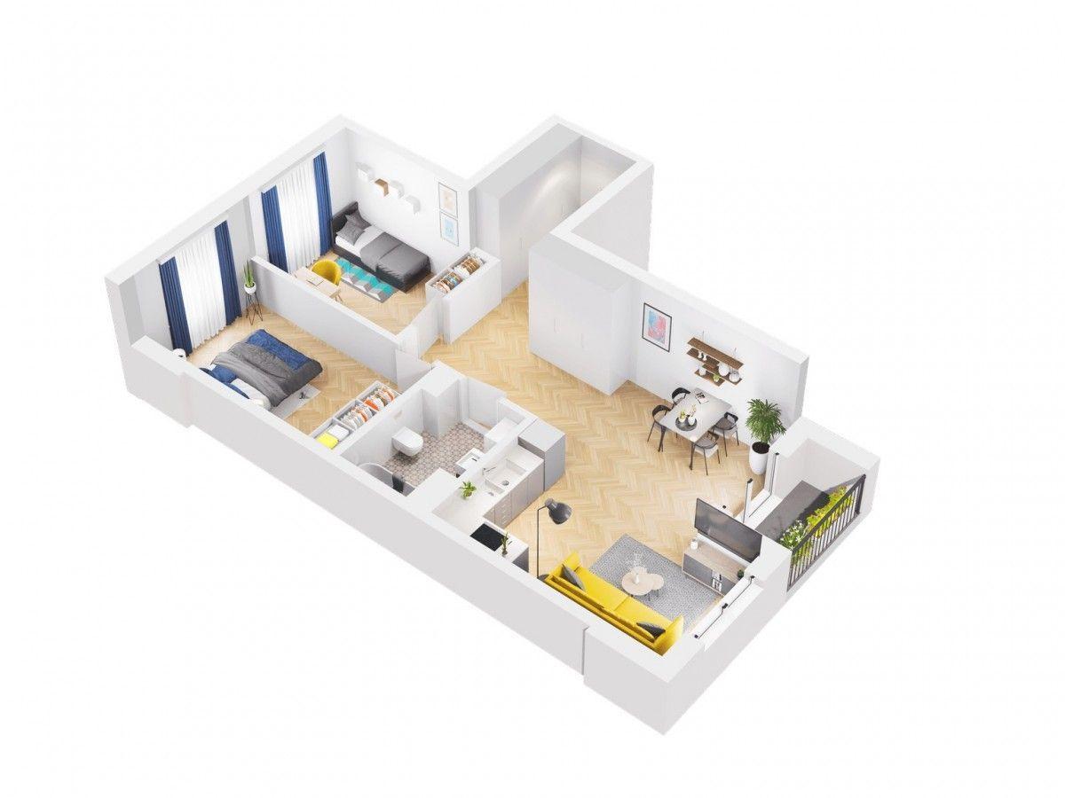 3 pokoje, wysokie piętro , pętla tramwajowa 200 M