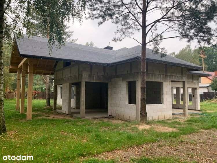 dom stan surowy otwarty z działką 2000m2