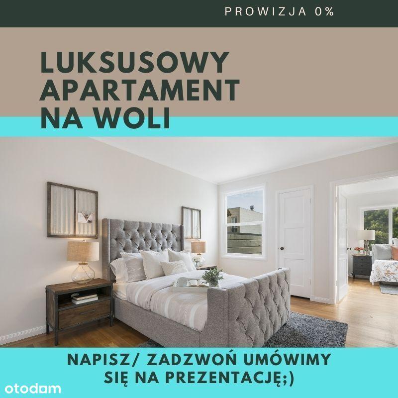 Dwupoziomowy luksusowy apartament na Woli, 0% prow