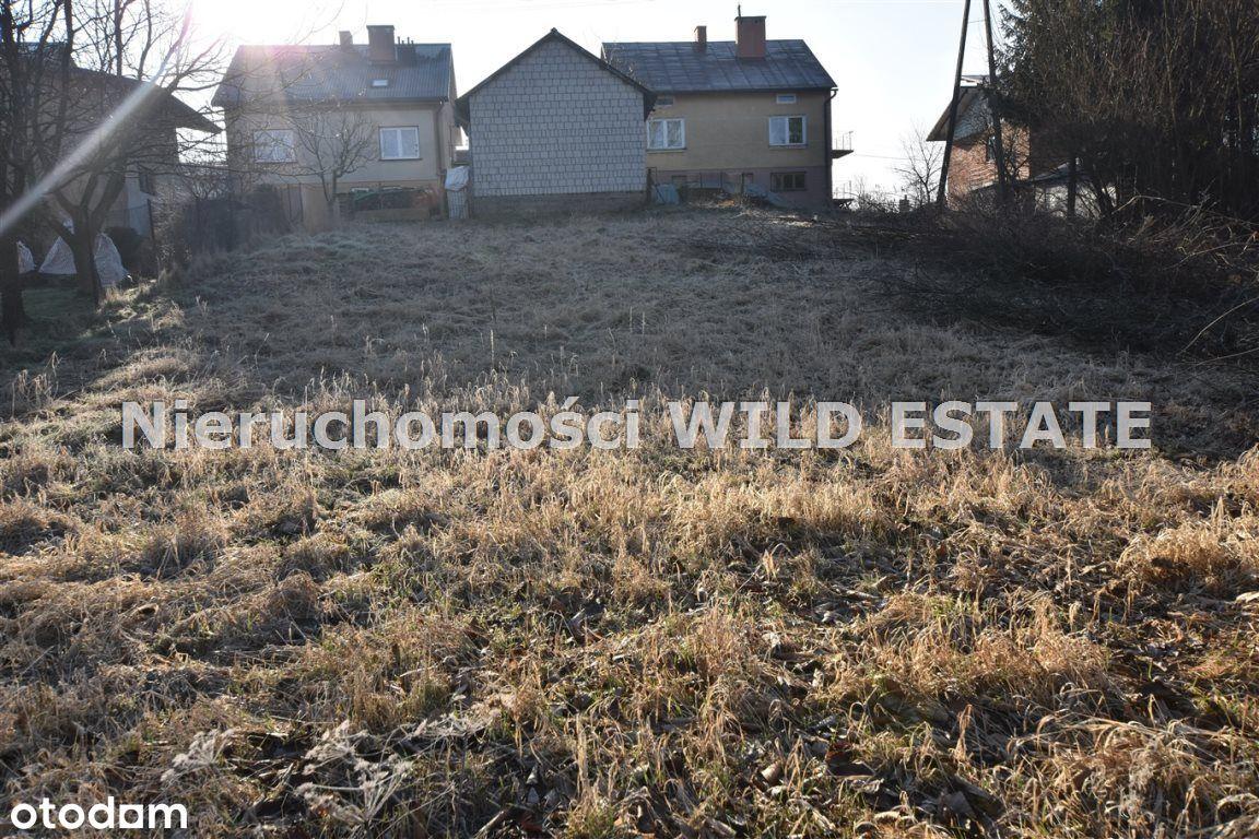 Działka, 854 m², Lesko