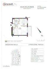 Miesszkanie 2 pokojowe 41,07m2 oddanie X/XI msc.br