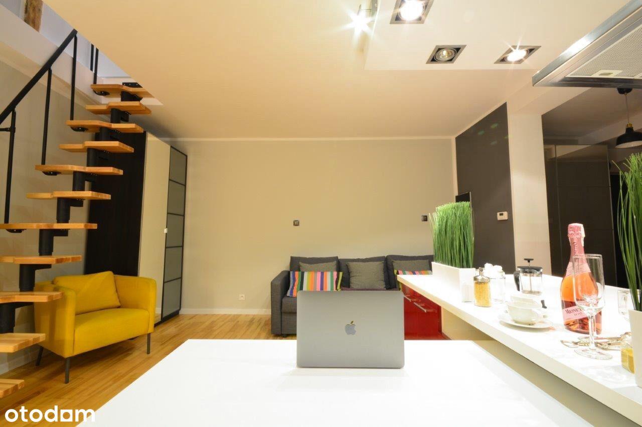 Mieszkanie dwupoziomowe 72m2 wpobliżu Parku Śląski