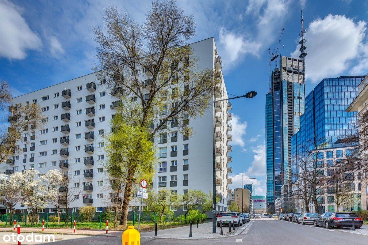 3 pokoje w ścisłym centrum Warszawy