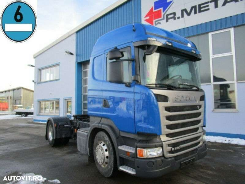 Scania R 490 Highline Cr19 Euro6 Nebenantrieb Retarder - 1