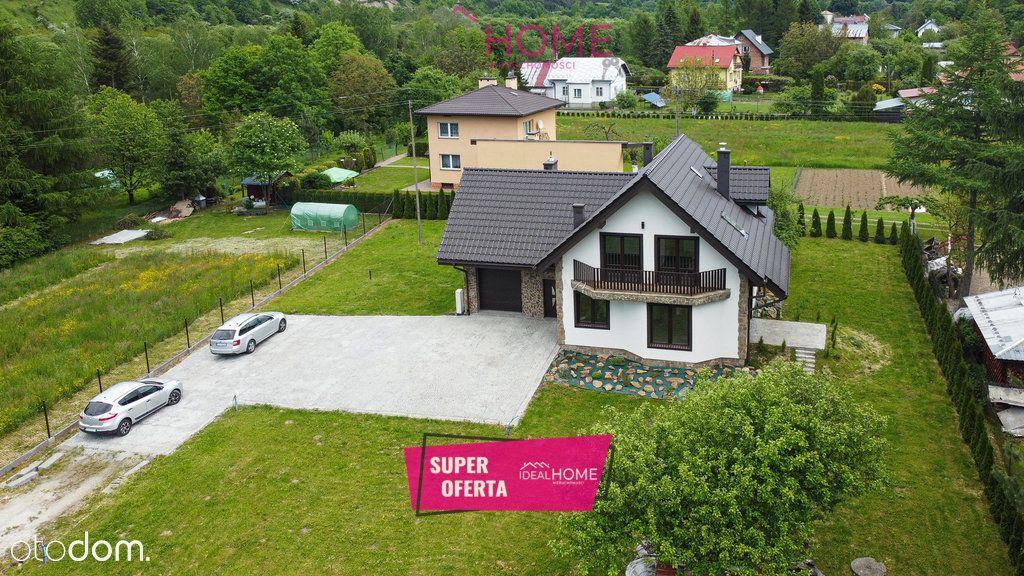 Dom wolnostojący w bajecznej okolicy - Zagórz
