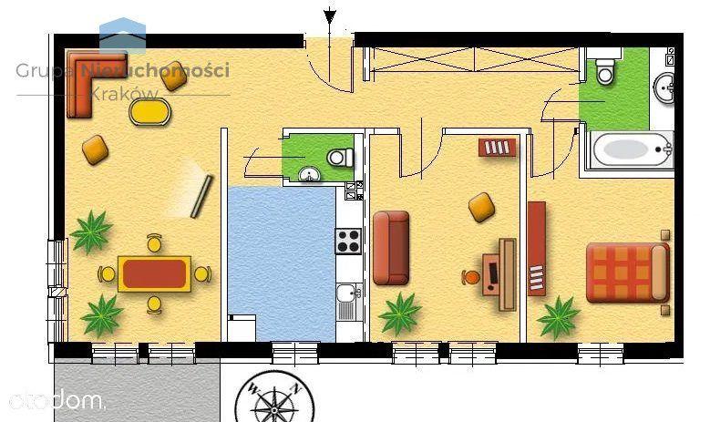 Garden Residence | Zabłocie | 3 Pok | 76,50m2