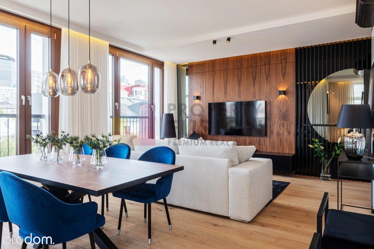 Wyjątkowy apartament w Browarach Warszawskich
