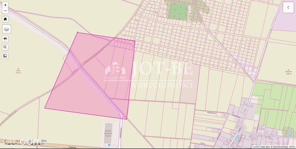 Działka, 44 471 m², Błonie
