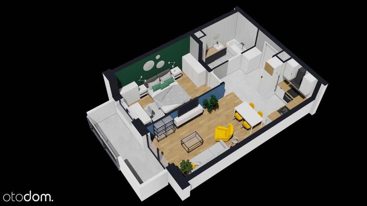 10. Ustawny 2-pokojowy apartament