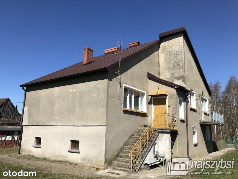 2 domy na dużej działce blisko Białogardu