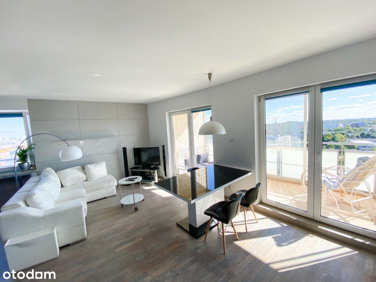 Apartament z panoramicznym widokiem przy parku