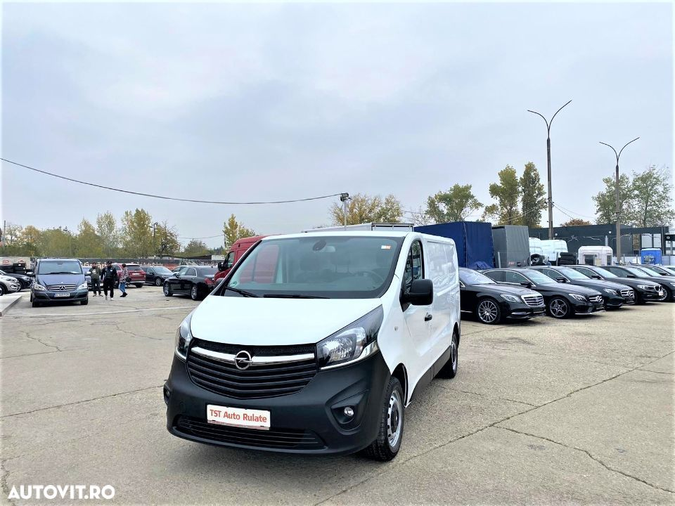 Opel VIVARO L1 H1 IMPORT GERMANIA - 2