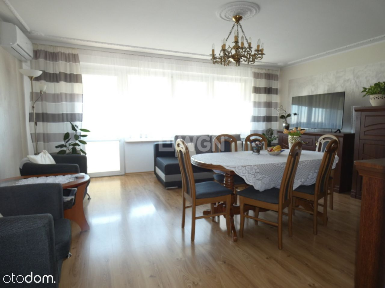 Mieszkanie, 60,70 m², Ostrów Wielkopolski