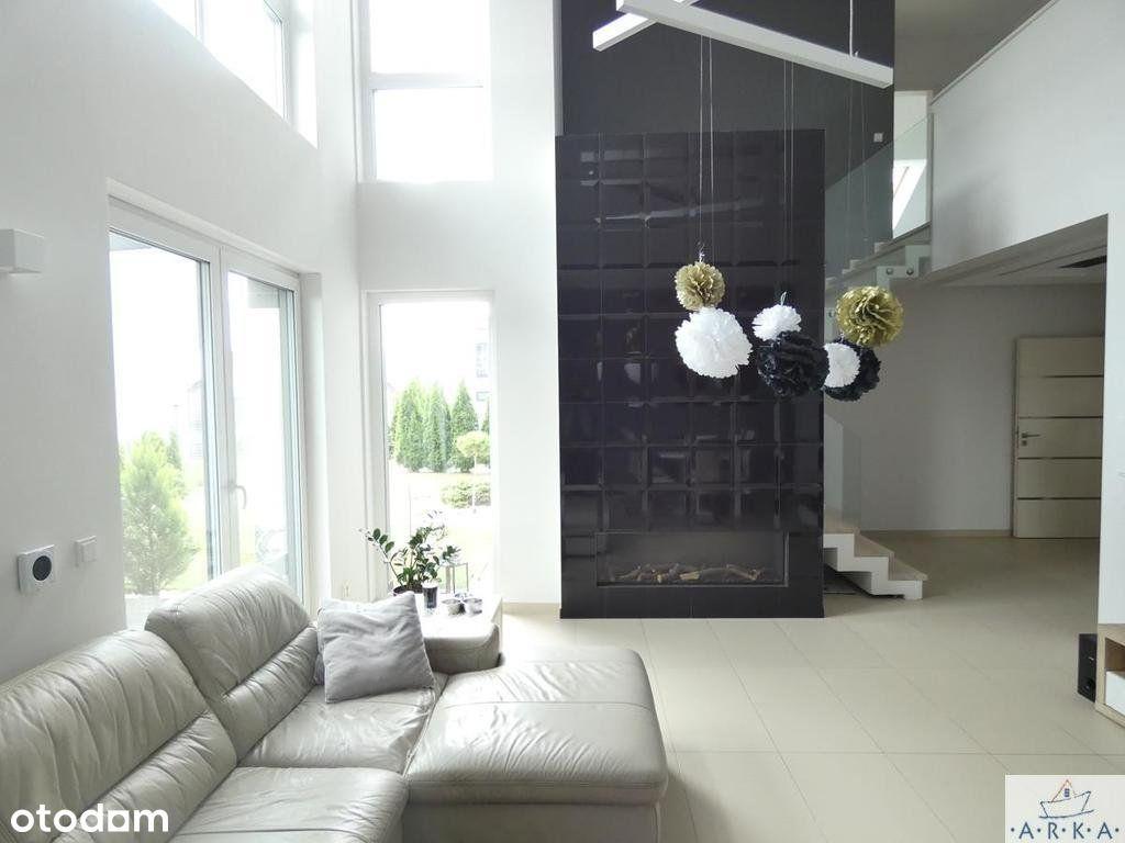 Nowoczesny dom z basenem, 185 m2, Pomorzany
