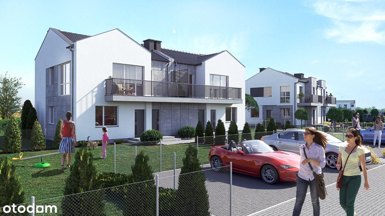 przestronne mieszkanie 48.8m2 z ogrodem