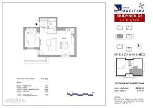 2 pokoje, 50m2, duży taras!