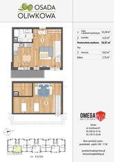 Przestronne dwupoziomowe mieszkanie Smolec, 47m2!