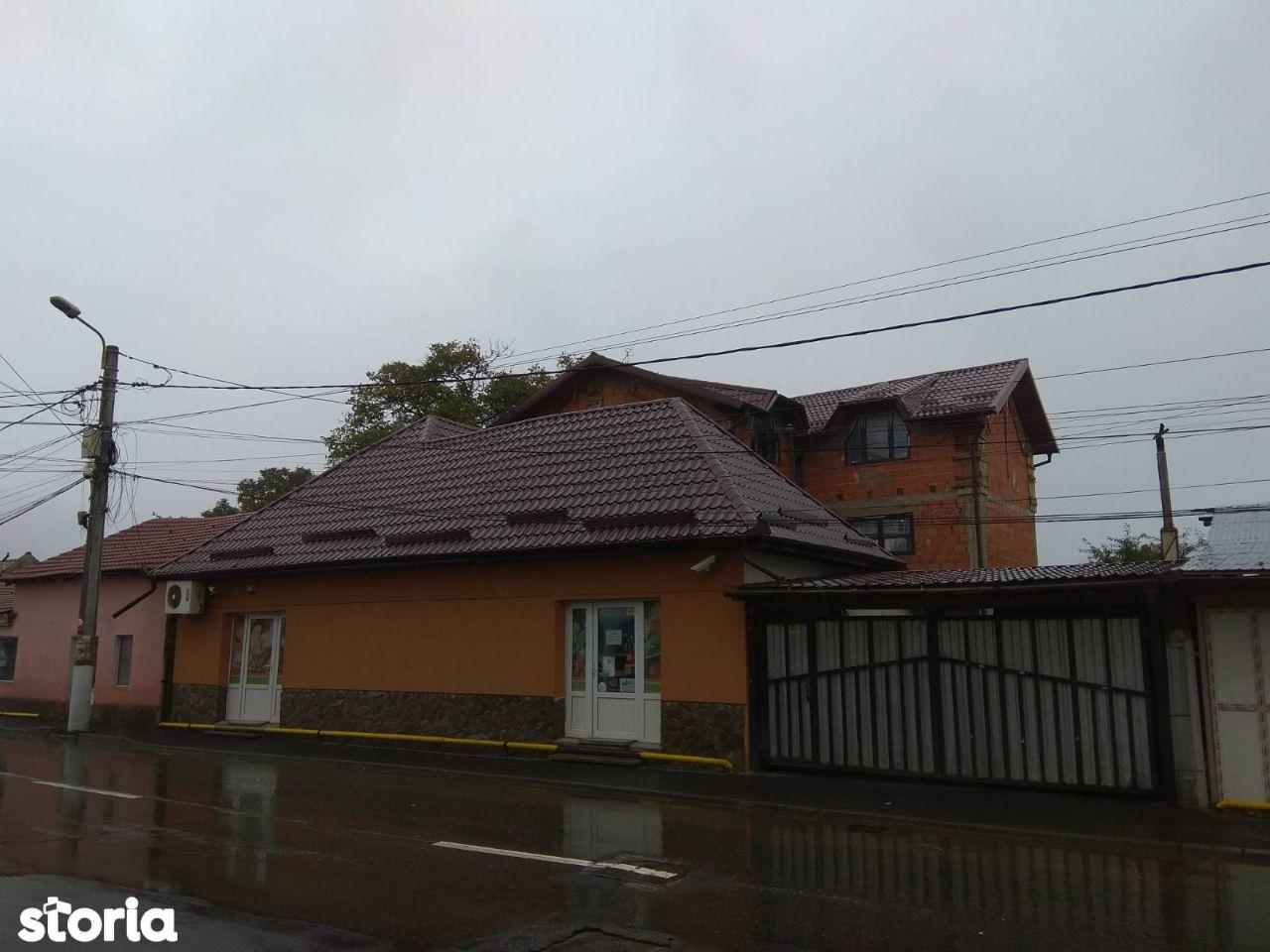 Vila și Spațiu Comercial Stradal- Zărnești
