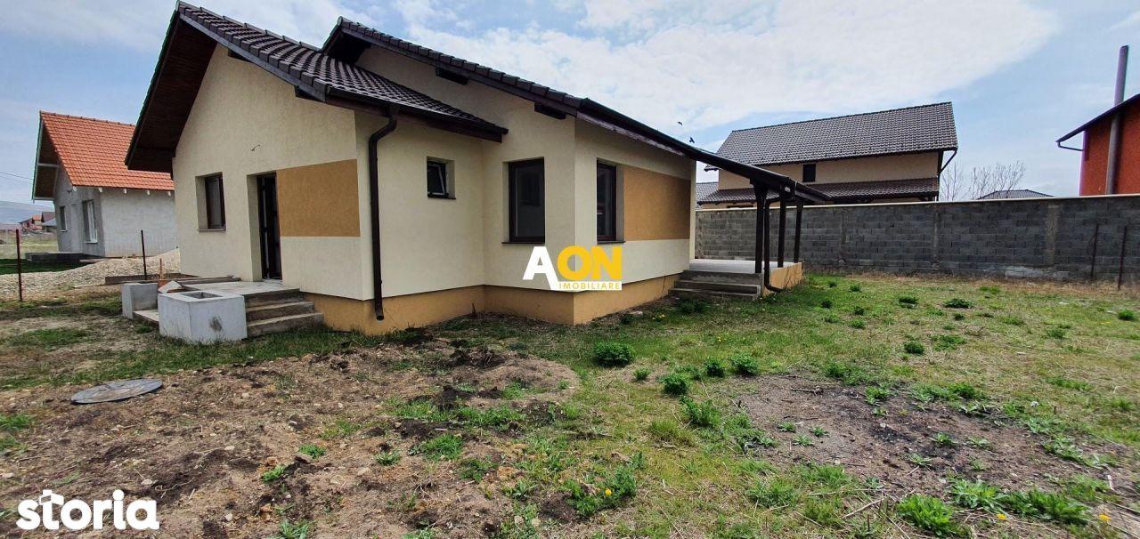 Casa semifinisata 3 camere, 365 mp teren