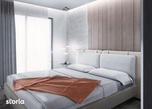 Apartament nou de 2 camere, zona centrala, etaj 3, 58.9 mp utili