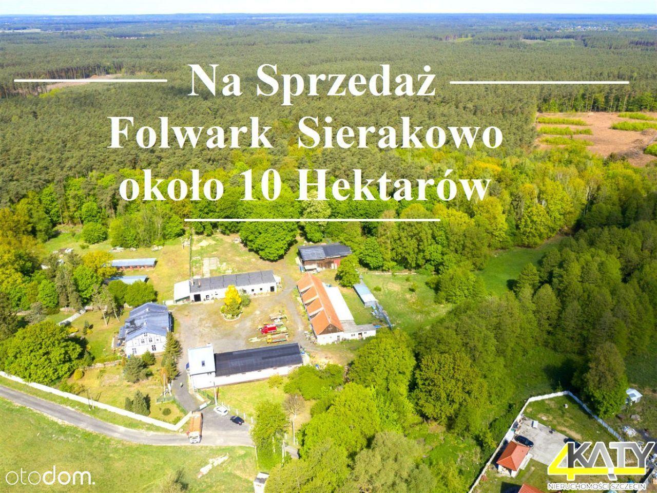 Na sprzedaż Folwark Sierakowo, ok. 10 Hektarów