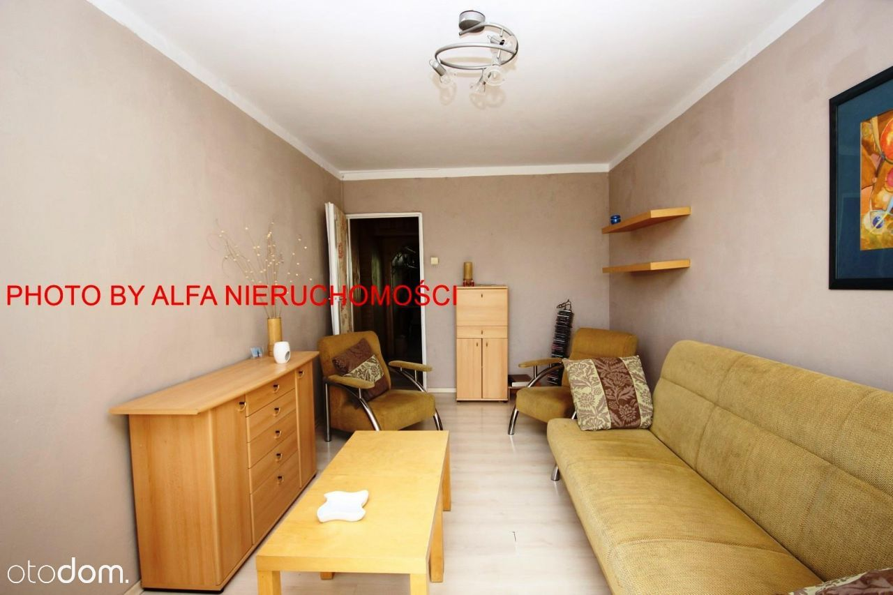 2 pokojowe mieszkanie z balkonem i miejskim C.O.