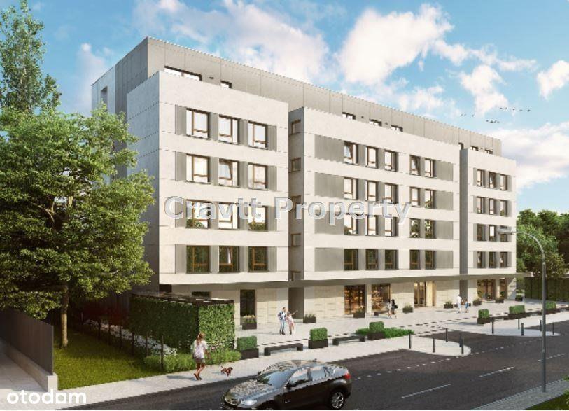 Apartament 52 m2 z tarasem i unikalnym widokiem