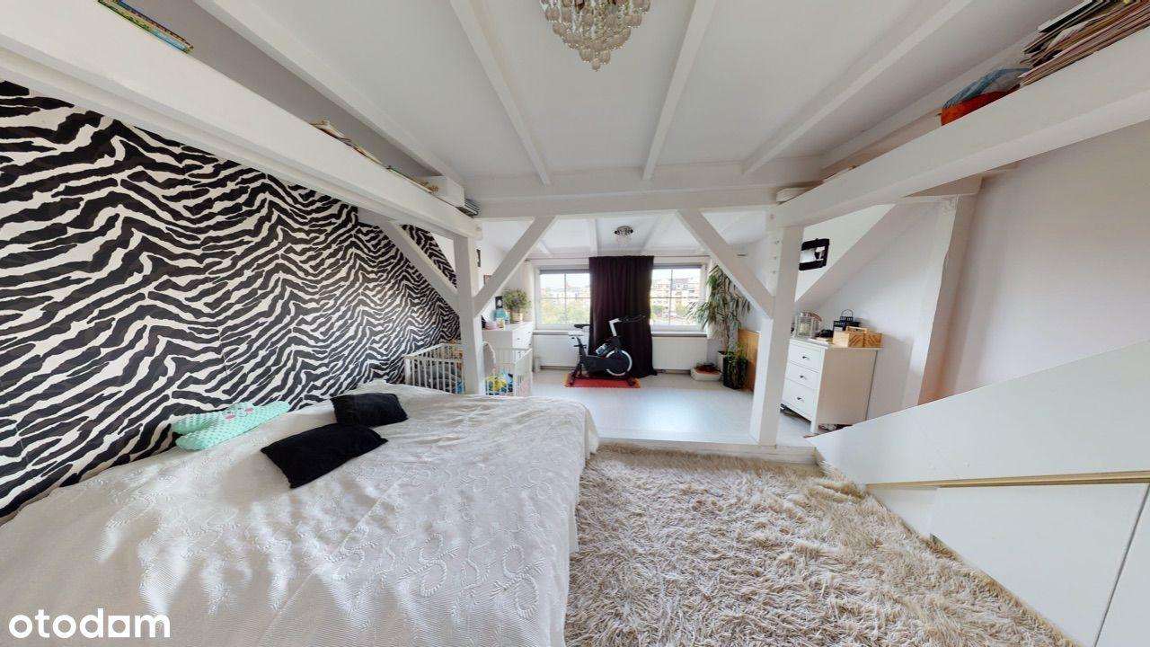 Mieszkanie 90m, poddasze użytkowe, nowa cena!