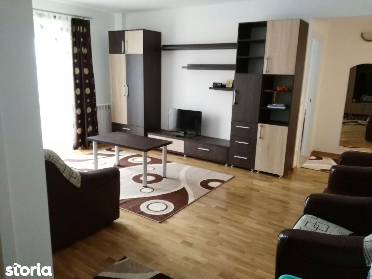 Bloc nou, apartament cu doua camere mobilat si utilat