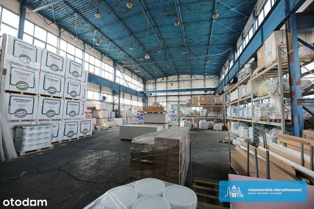 Hala magazynowa 1150 m2 + biura + plac manewrowy.