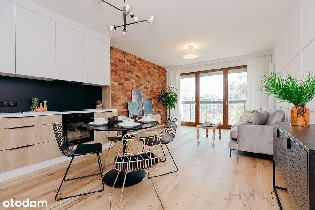 Słoneczne, jasne mieszkanie 2 pokojowe z balkonem