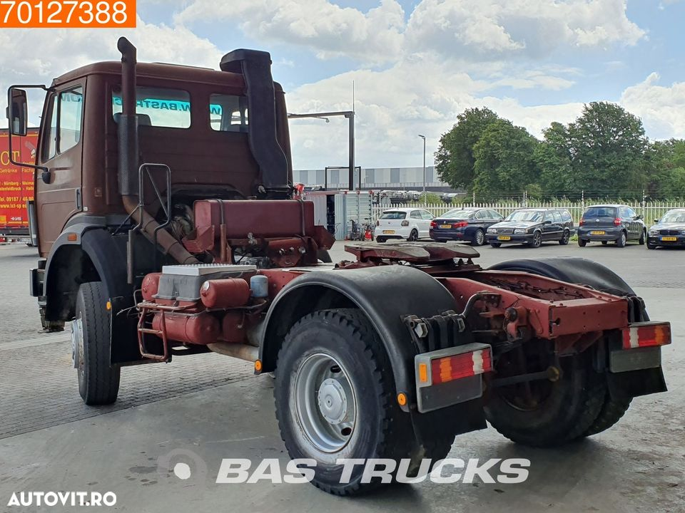 Mercedes-Benz 2038 AS 4X4 4X4 V8 Big-Axle Manual Hydraulik SteelSuspension - 2