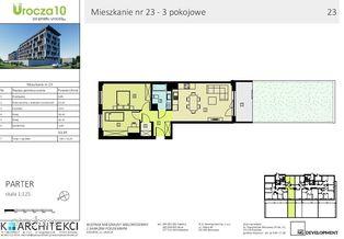 BEZPOŚREDNIO OD DEWELOPERA - 3 pokojowy mieszkanie