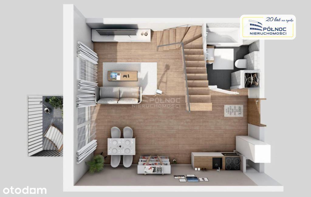 Dwupoziomowe mieszkanie Iiiq 2022 Tarchomin