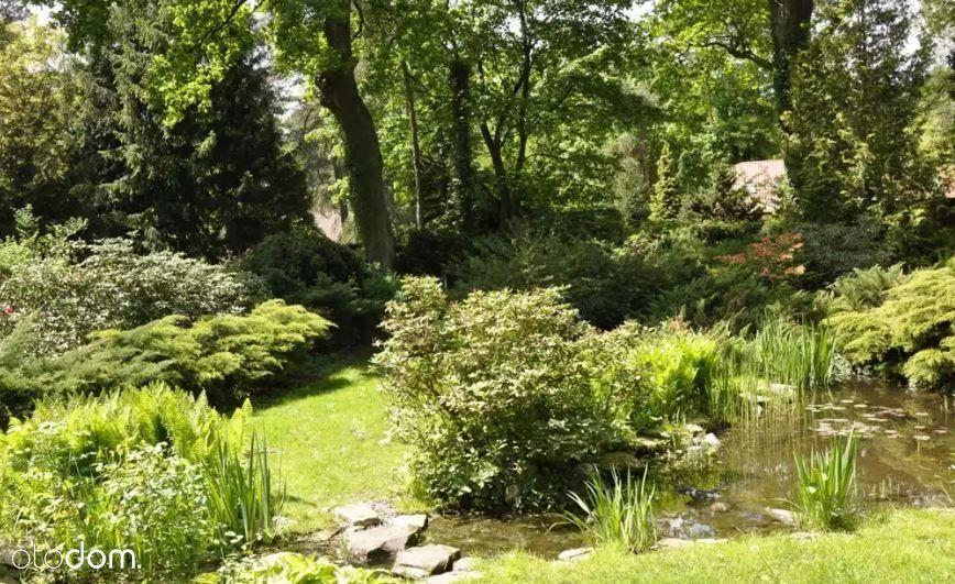 Dom z malowniczym ogrodem
