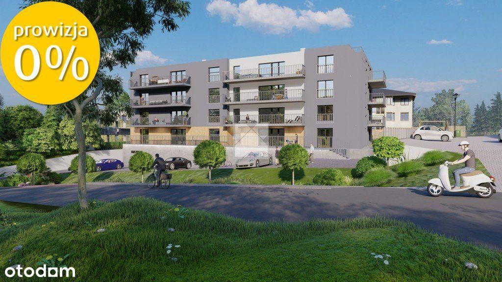 Mieszkanie na sprzedaż o pow. 37,4 m2 z ogródkiem
