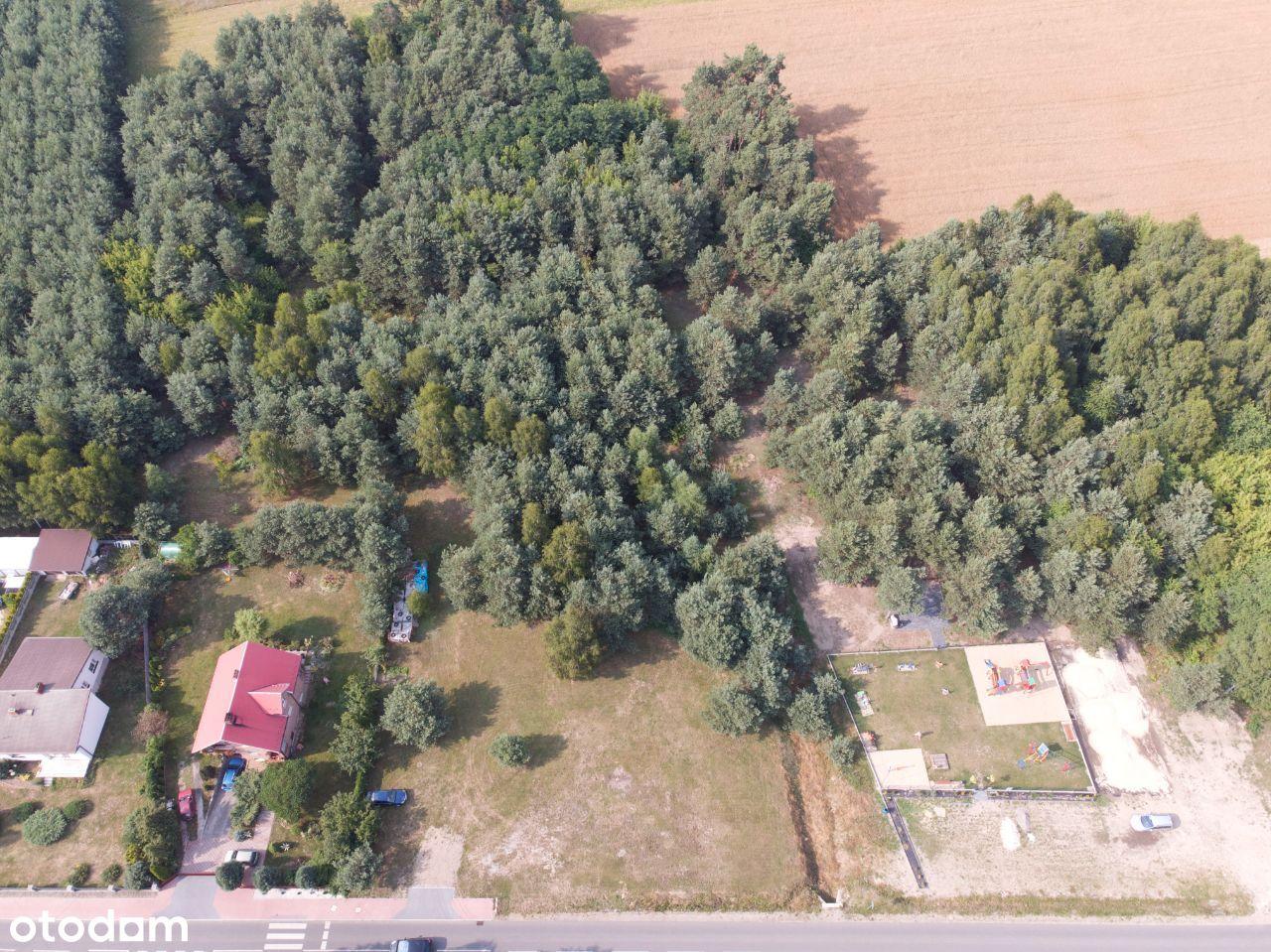 Działka Rolno-Budowlana Popów 1247m2 i 1121m2