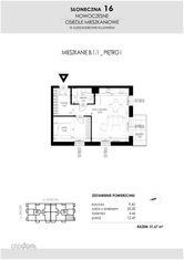 SŁONECZNA16 Mieszkanie B1.1 51,67 Aleksandrów Kuj