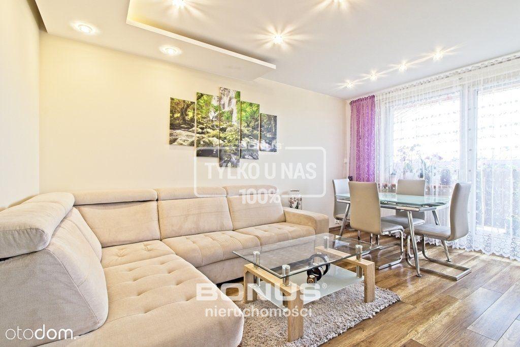 Dwupoziomowe mieszkanie z balkonem - Kijewo