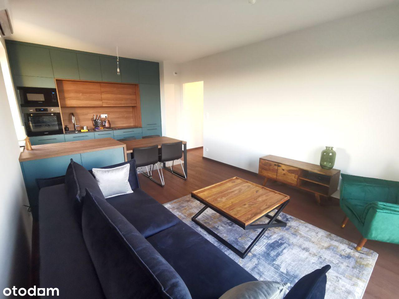 3 pok. apartament 60m2, garaż, Port Popowice