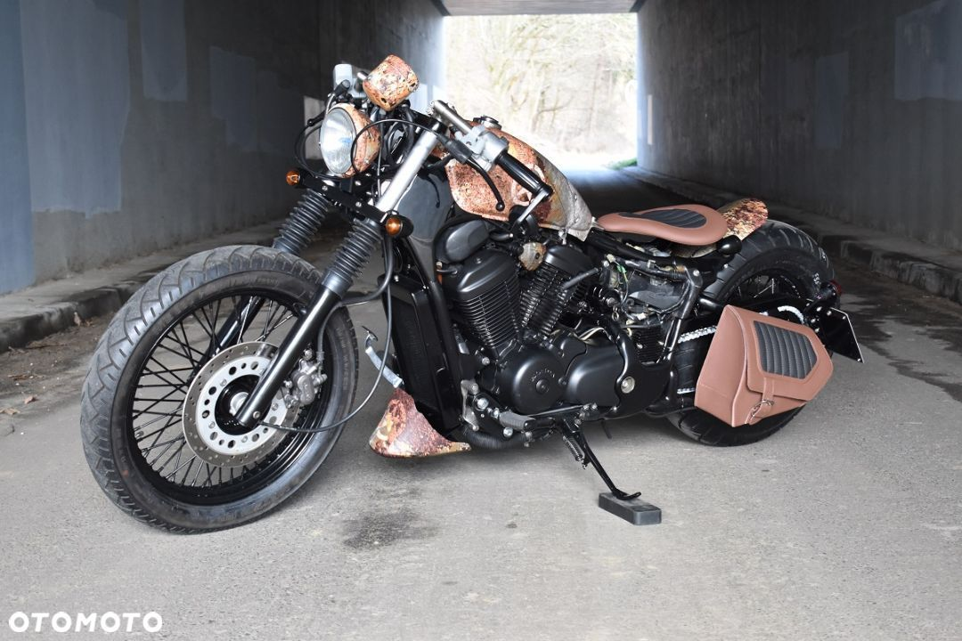 Honda VT Shadow vt 600 Flame Custom Bobber cafe - 21