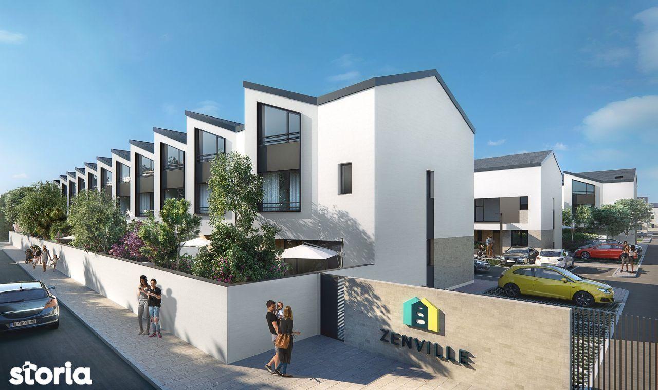 Casa de vanzare in ZenVille, noul concept de gated-community in Pipera